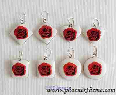 Fashion Jewelry, Costume Jewelry, Ceramic Jewelry
